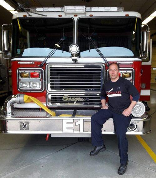 Mike Schejbal Fireman and home inspector