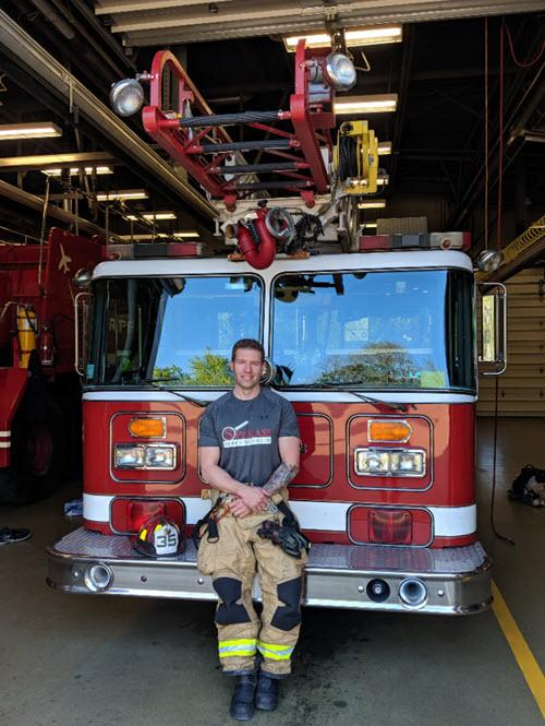 Steve Davis Fireman and home inspector